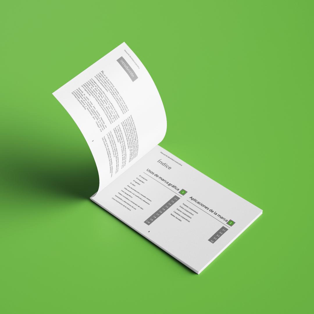 ejemplo de manual de identidad corporativa para consultor profesional