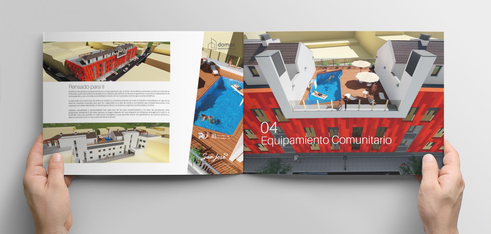 diseño y maquetacion catalogo construccion