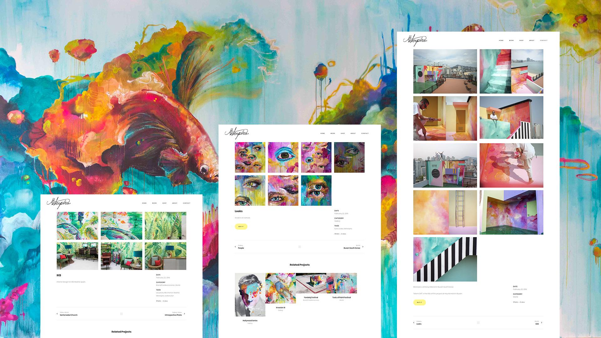 portfolio online Misterpiro