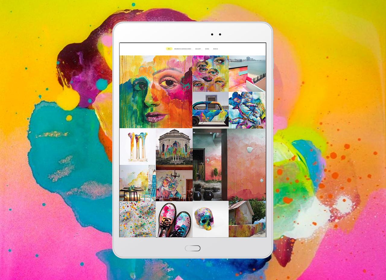 portfolio online creativo