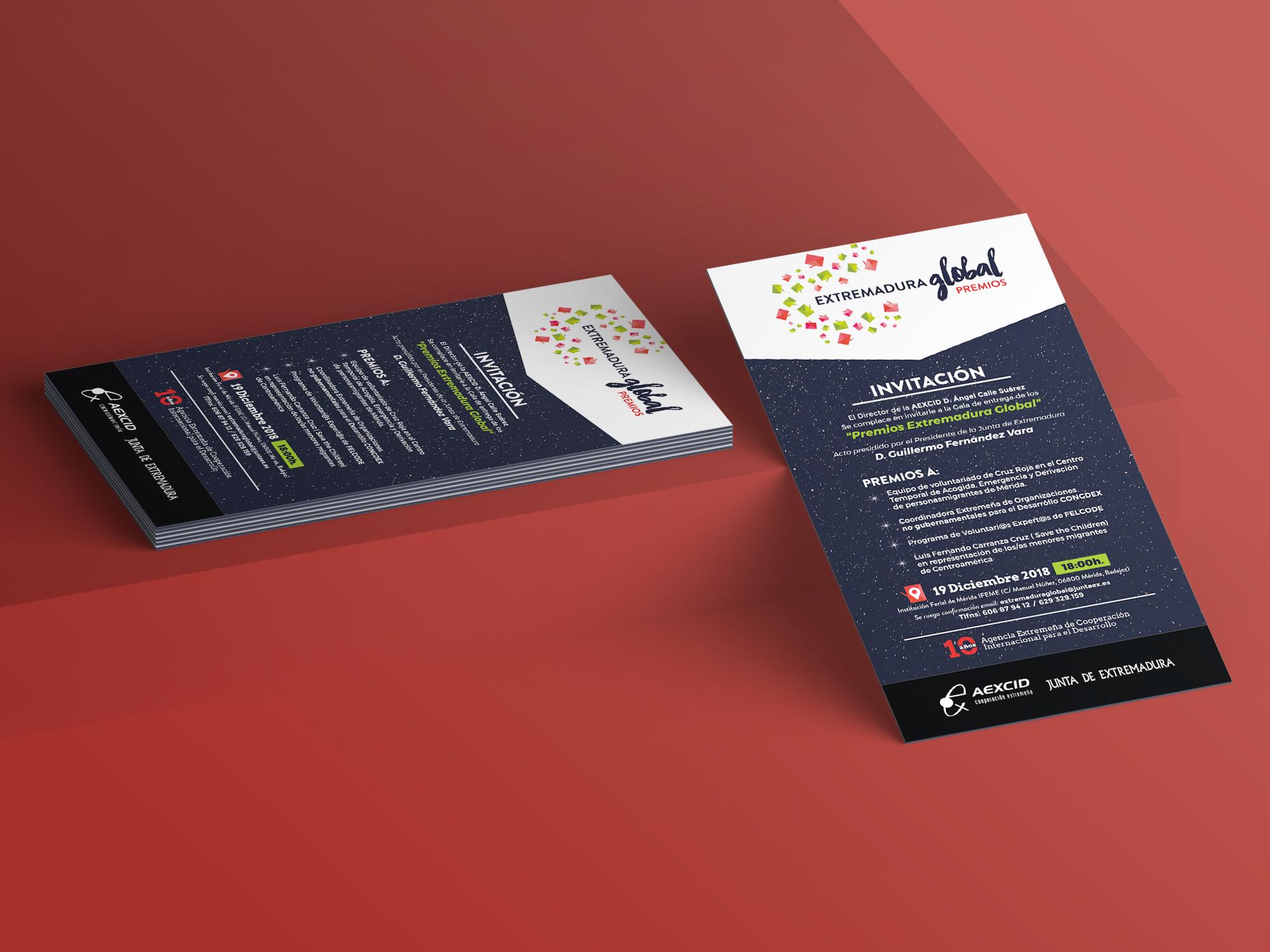 diseño invitaciones creativas
